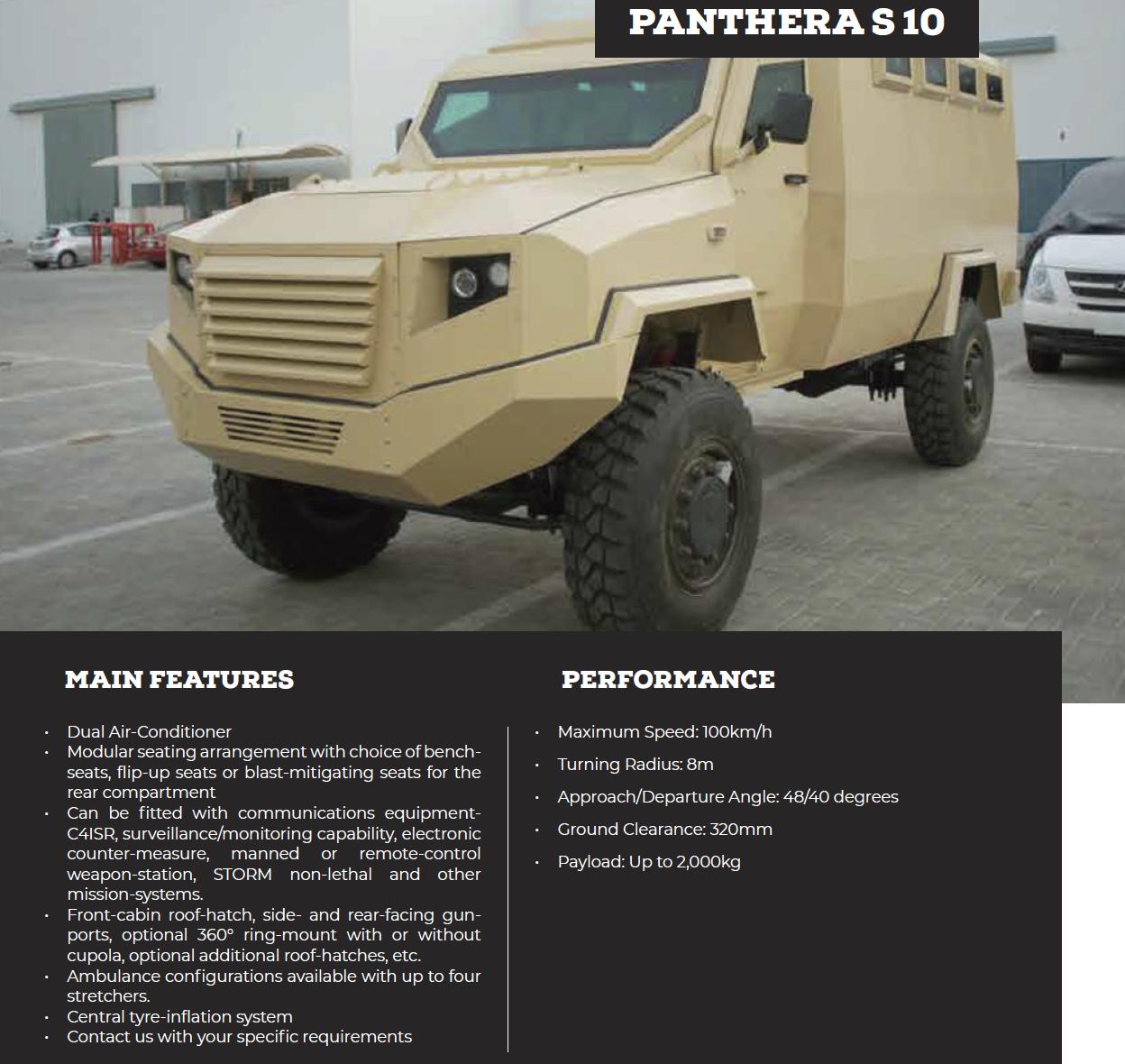 Panthera S 10