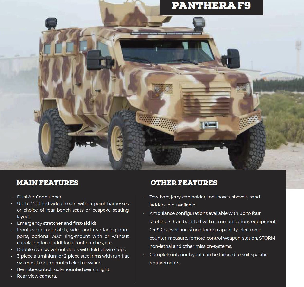 Panthera F9