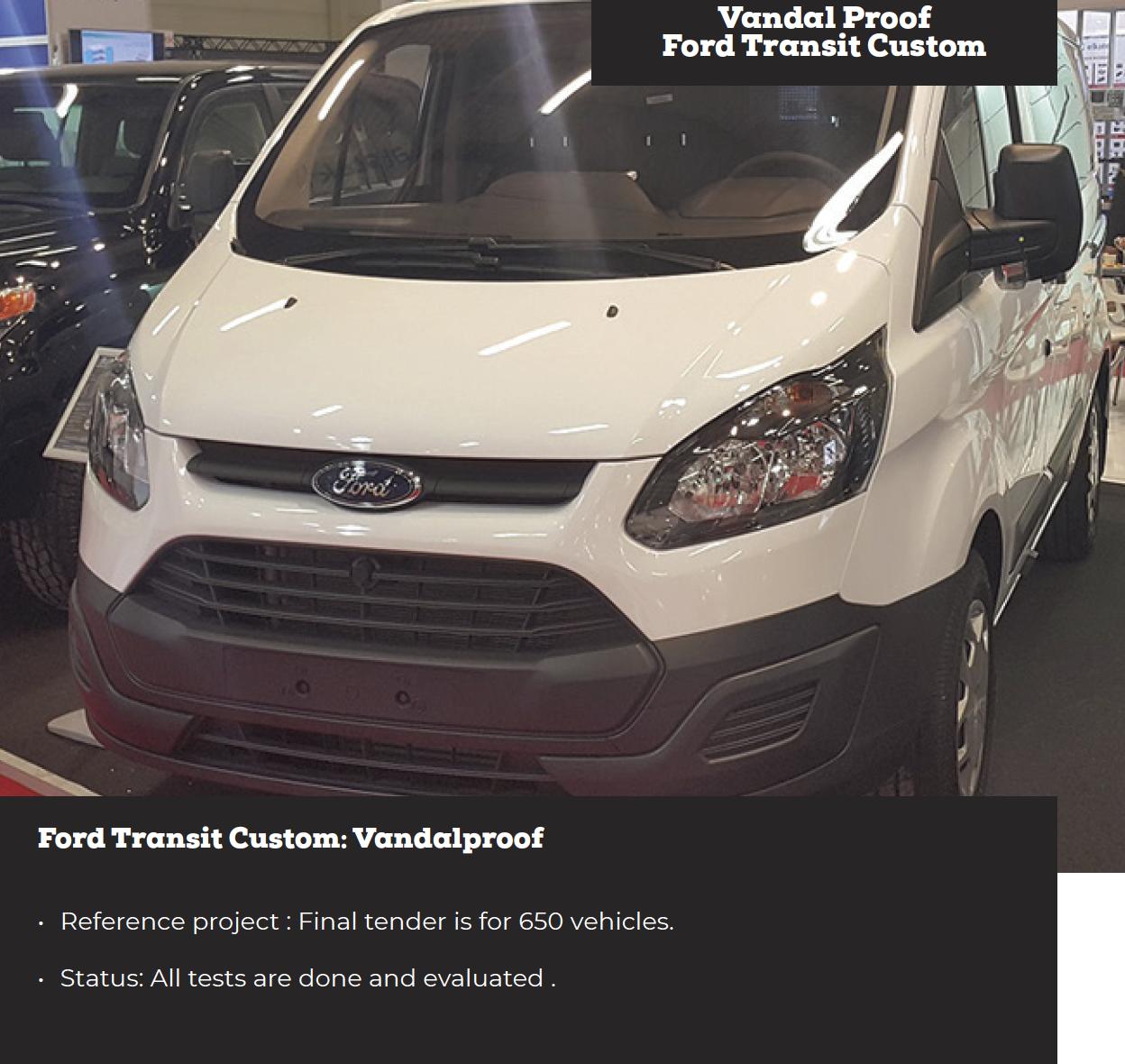 Vandal Prof Ford Transit