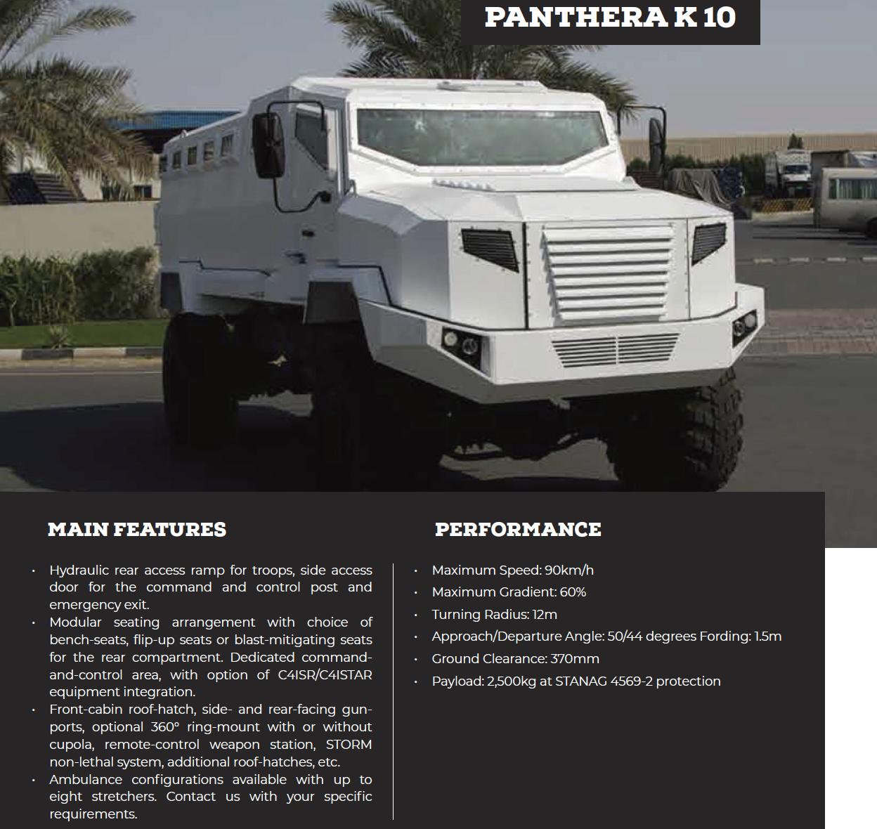 Panthera K 10