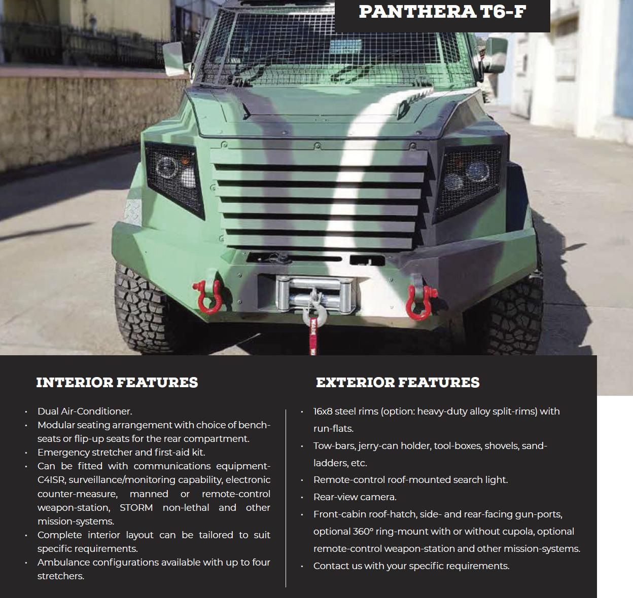 Panthera T6-F