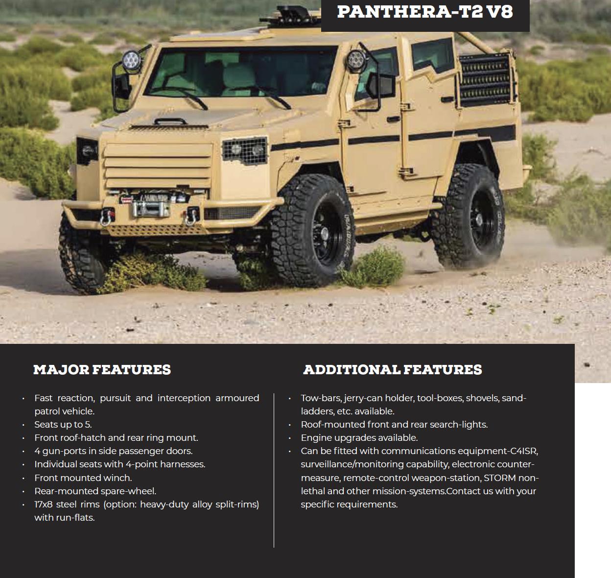 Panthera-T2 V8