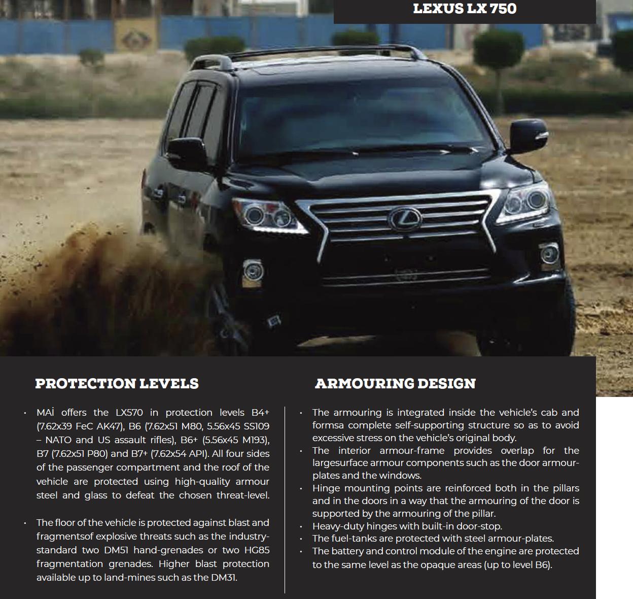 Lexus LX 750