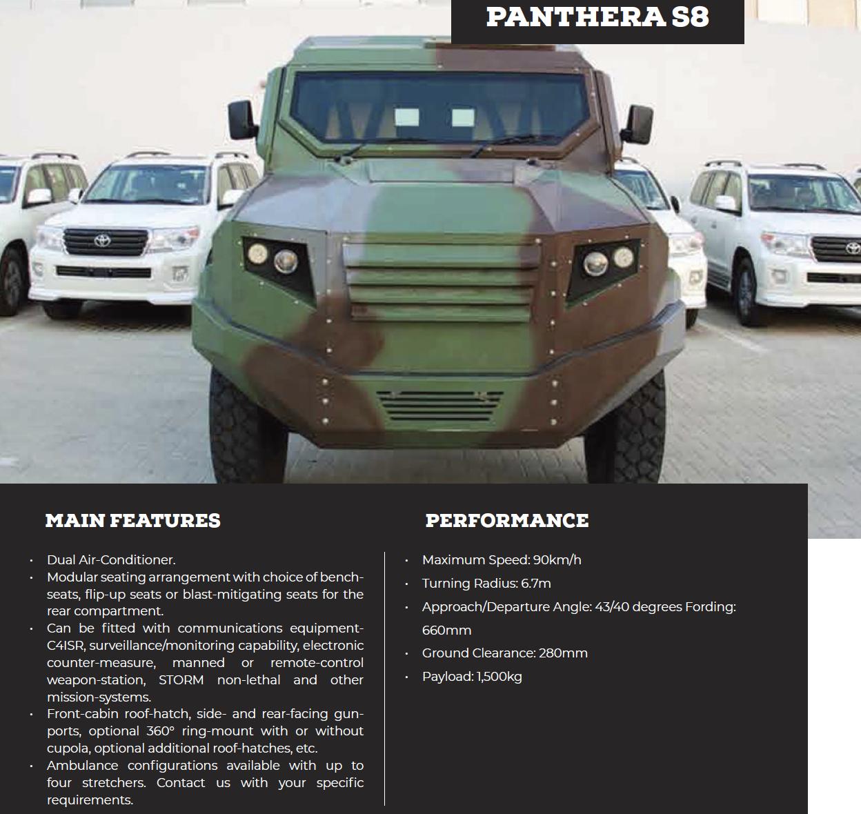 Panthera S8